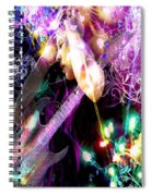 Musical Lights Spiral Notebook