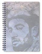 Musical Mind Of Ben Harper Spiral Notebook
