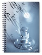 Musical Tune Spiral Notebook