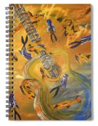 Musical Waters Spiral Notebook