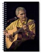 Musician And Songwriter Verlon Thompson Spiral Notebook