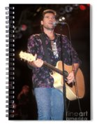 Musician Billy Ray Cyrus Spiral Notebook