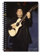 Musician Clint Black  Spiral Notebook
