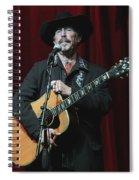 Musician Kinky Friedman Spiral Notebook