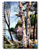 Muskoka Reflections Spiral Notebook