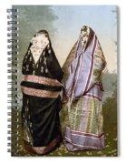 Muslim Women, C1895 Spiral Notebook