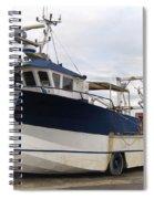 Mussel Boat Spiral Notebook