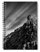Mussenden Temple - On The Edge Spiral Notebook