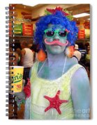 Mustache Merman Spiral Notebook