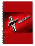 Mustang Spiral Notebook