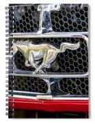 Mustang Grill Spiral Notebook