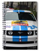 Mustang Race Car Spiral Notebook