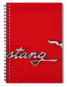 Mustang Three O Two Spiral Notebook