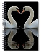 Mute Reflections Spiral Notebook