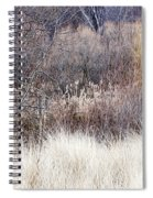 Muted Colors Of Winter Forest Spiral Notebook