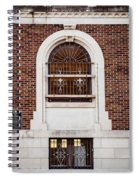 Mutual Aid Historic Bluilding Spiral Notebook