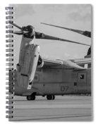 Mv 22 Osprey 05  Spiral Notebook