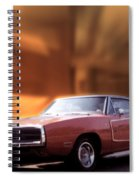 My 70 Charger 440 Six Pack Spiral Notebook