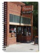 My Bar Spiral Notebook
