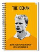 My Bergkamp Soccer Legend Poster Spiral Notebook