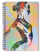 My Colorful Ballerina  Spiral Notebook