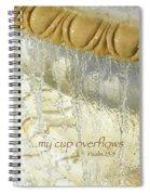 My Cup Overflows Spiral Notebook