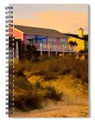 My Feet In The Sand At Isle Of Palms Spiral Notebook