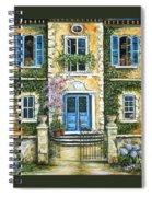 My French Villa Spiral Notebook