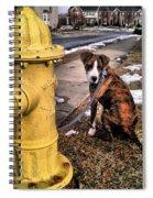My Friend Plug Spiral Notebook