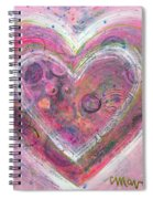 My Glittering Heart Spiral Notebook