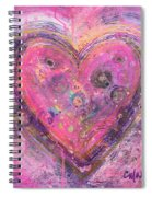 My Heart Of Circles Spiral Notebook