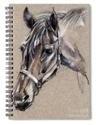 My Horse Portrait Drawing Spiral Notebook