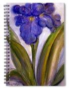 My Iris Spiral Notebook