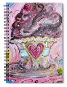 My Lil Cupcake - Chocolate Delight Spiral Notebook