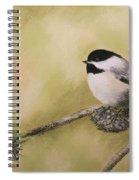My Little Chickadee Spiral Notebook