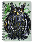 My Little Owl Spiral Notebook