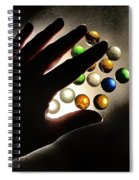 My Little Planets Series - The Beggining Spiral Notebook