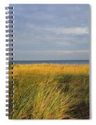 My Love Awaits Me By The Sea Spiral Notebook
