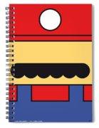 My Mariobros Fig 01 Minimal Poster Spiral Notebook