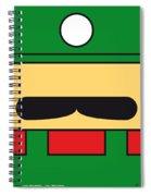 My Mariobros Fig 02 Minimal Poster Spiral Notebook