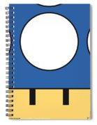 My Mariobros Fig 05d Minimal Poster Spiral Notebook