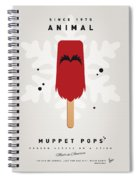 My Muppet Ice Pop - Animal Spiral Notebook