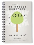 My Muppet Ice Pop - Dr Bunsen Honeydew Spiral Notebook