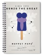 My Muppet Ice Pop - Gonzo Spiral Notebook