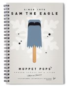 My Muppet Ice Pop - Sam The Eagle Spiral Notebook