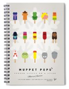 My Muppet Ice Pop - Univers Spiral Notebook