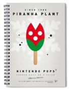 My Nintendo Ice Pop - Piranha Plant Spiral Notebook