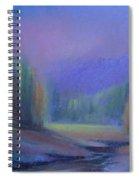 November Symphony 2 Spiral Notebook