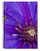 My Old Clematis Home Spiral Notebook