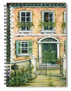 My Pink Italian Villa Spiral Notebook